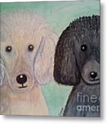 Gabriel And Belle Metal Print
