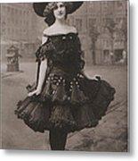 Gabrielle Ray Ca.1905 Metal Print