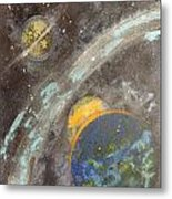 Galactic Dust Metal Print