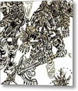 Galactic Warriors Metal Print