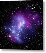 Galaxy Cluster Macs J0717 Metal Print by Nasacxcstscima Et Al