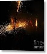 Galaxy Of Sparks Metal Print