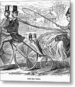 Gallant Admirers, 1869 Metal Print
