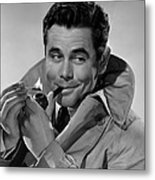 Gallant Journey, Glenn Ford, 1946 Metal Print by Everett