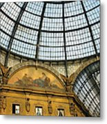 Galleria In Milan I Metal Print