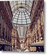 Galleria Vittorio Emanuele Metal Print
