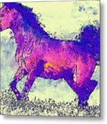 Galloping Grace Metal Print