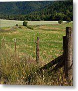 Galls Creek Farm Scene Metal Print