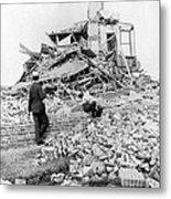 Galveston Flood Damage - September - 1900 Metal Print