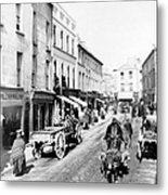 Galway Ireland - High Street - C 1901 Metal Print