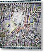 Gambling Memories Metal Print