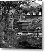 Garden And Temple Metal Print