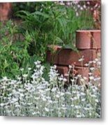 Garden Decor Metal Print