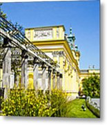 Garden Entry Wilanow Palace - Warsaw Metal Print