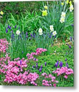 Garden Escape Metal Print