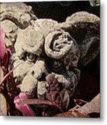 Garden Gargoyle Metal Print
