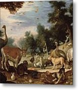 Garden Of Eden Metal Print