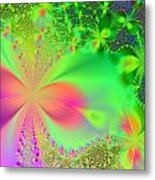 Garden Of Peace And Happiness Metal Print