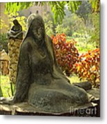 Garden Of Statues Egypt Metal Print