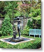 Garden Statuary Metal Print
