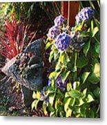 Garden Zen Art Metal Print
