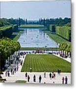 Gardens At Palace Of Versailles France Metal Print