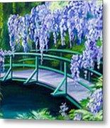 Gardens Of Givernia II Metal Print