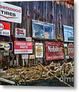 Gas Station Signs Metal Print