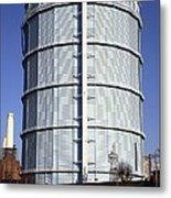 Gas Storage Tank Metal Print