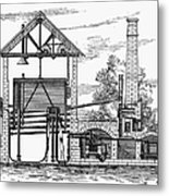 Gas Works, 1815 Metal Print