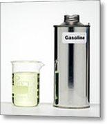 Gasoline Metal Print by Paul Rapson