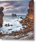 Gate In The Ocean Metal Print by Evgeni Dinev
