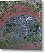 Gate To The Courtyard Metal Print