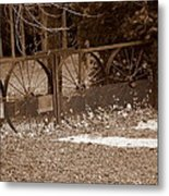 Gate To The Past Metal Print