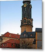 Gatehouse Weimar City Palace Metal Print