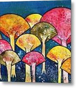 Gathering Of The Colors Metal Print