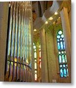 Gaudi's Vision Metal Print