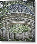 Gazebo At Longwood Gardens Metal Print