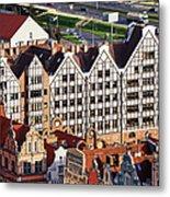 Gdansk Granaries Metal Print