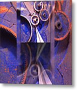 Gear Composition Metal Print by Ron Schwager