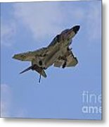 Gear Down Hook Down Metal Print