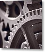 Gears Number 3 Metal Print
