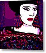 Geisha 3 Metal Print