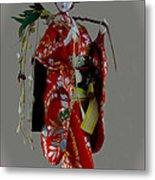 Geisha Elegance Metal Print by Al Bourassa