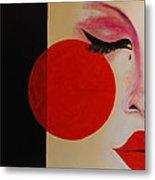 Geisha Tear Metal Print
