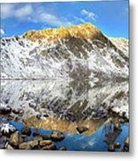Geissler Mountain In Linkins Lake Metal Print