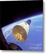 Gemini 6 Views Gemini 7 Metal Print