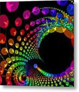 Gems Spinning Metal Print