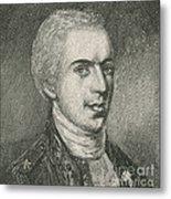 General Samuel B. Webb Metal Print