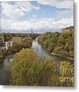 Genesee River Metal Print